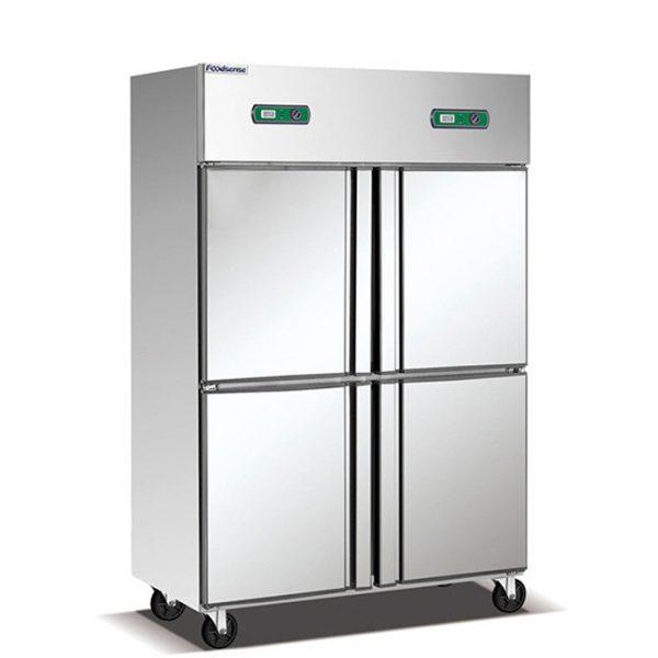 4 Door Commercial Refrigerator Freezer, Commercial Deep Freezer