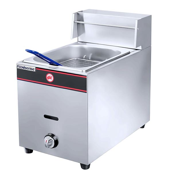 1-Tank 1-Basket Electric and Gas Fryer
