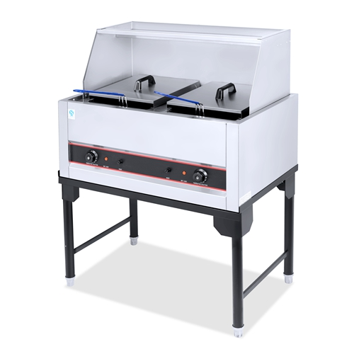2-Tank 2-Basket Electric Fryer Capacity