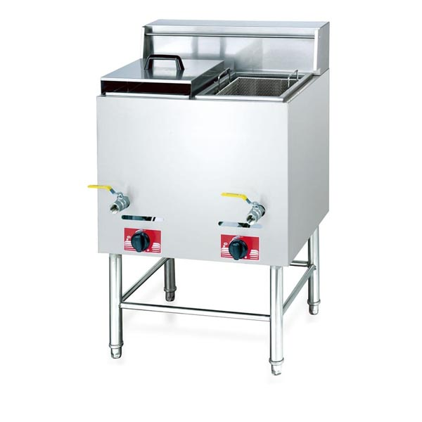 2-Tank 2-Basket Electric and Gas Fryer