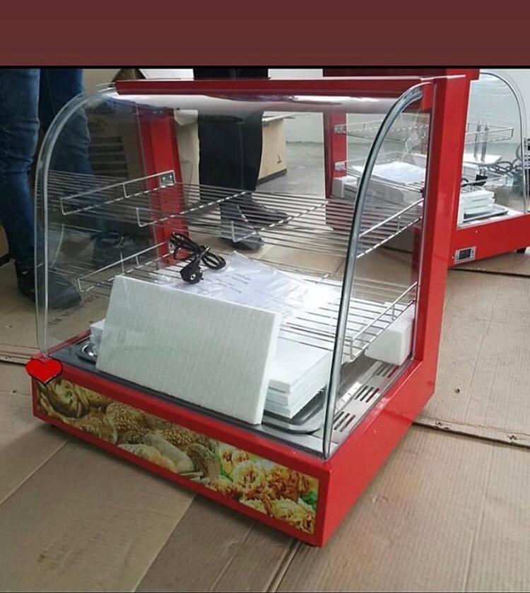 2 pans snacks display warmer 80k