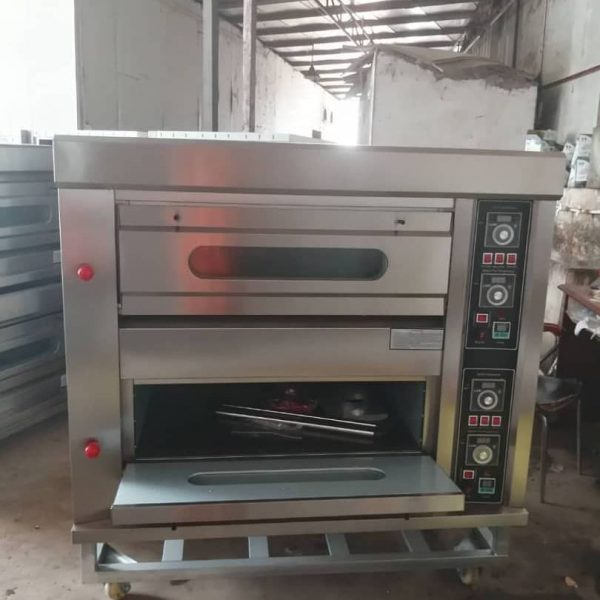 4 trays industrial gas oven