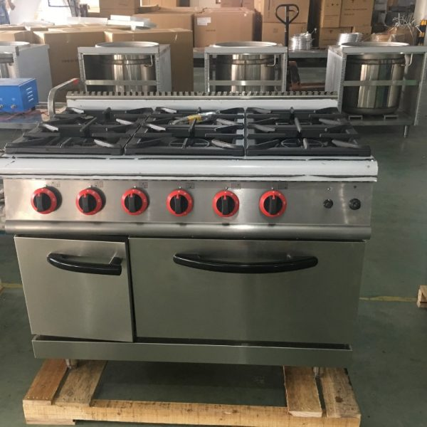 6-Burner Gas Range with Gas Oven