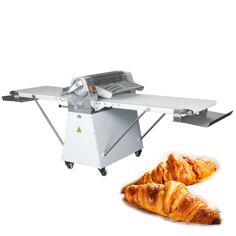 Dough sheeter standing