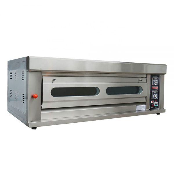 Gas Deck Oven 1 Deck 4 Tray Bakery Small Oven Gas