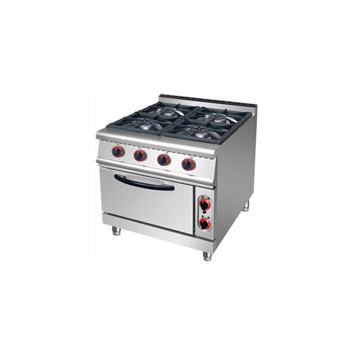 HGR 4-Burner Gas Range with Oven