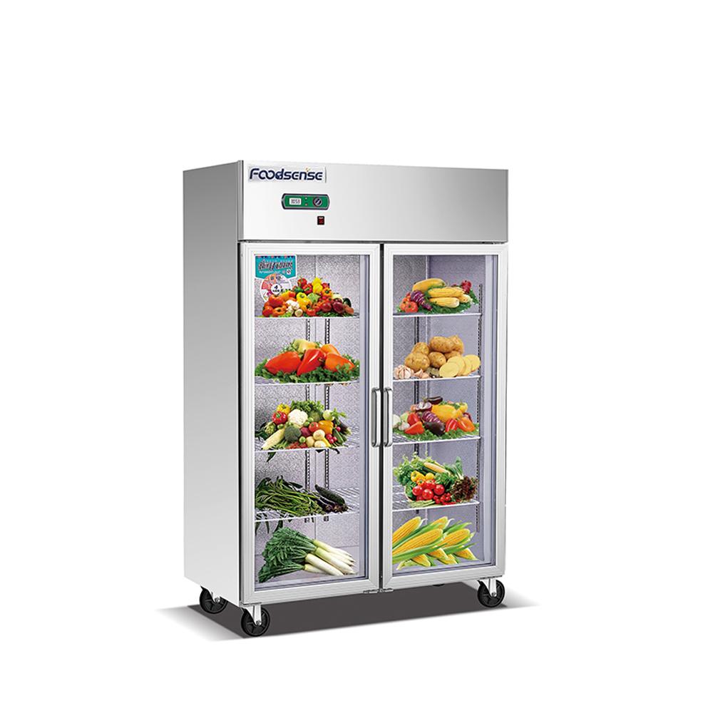 Stainless Steel 304 Commercial Kitchen Freezer Refrigerator Hotel Kitchen