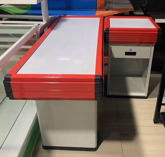 Supermarket Cashier Counter Table