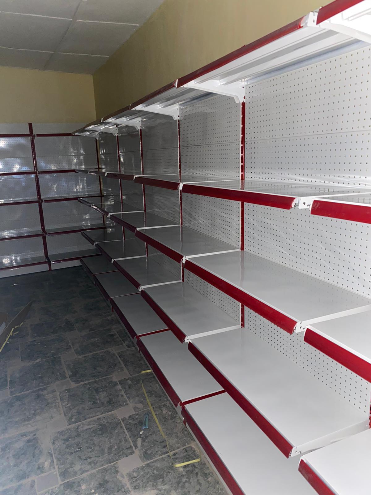 Supermarket Shelves Single Sided