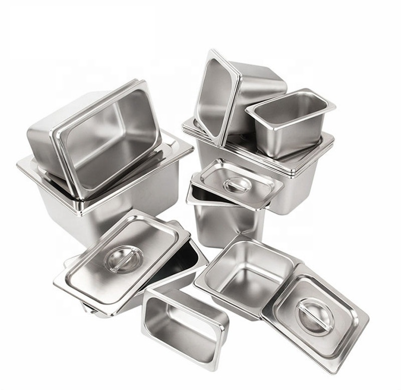 kitchen equipment Gastronorm Food Container stainless steel food storage container GN Pan