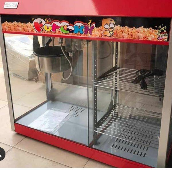 Popcorn Machine& Warming Showcase